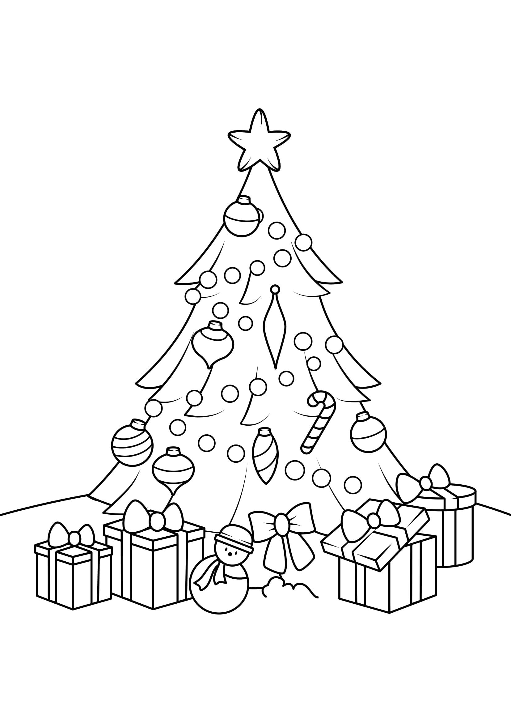 Disegni Da Colorare Albero Di Natale.Disegni Da Colorare Di Natale Aspettandonatale