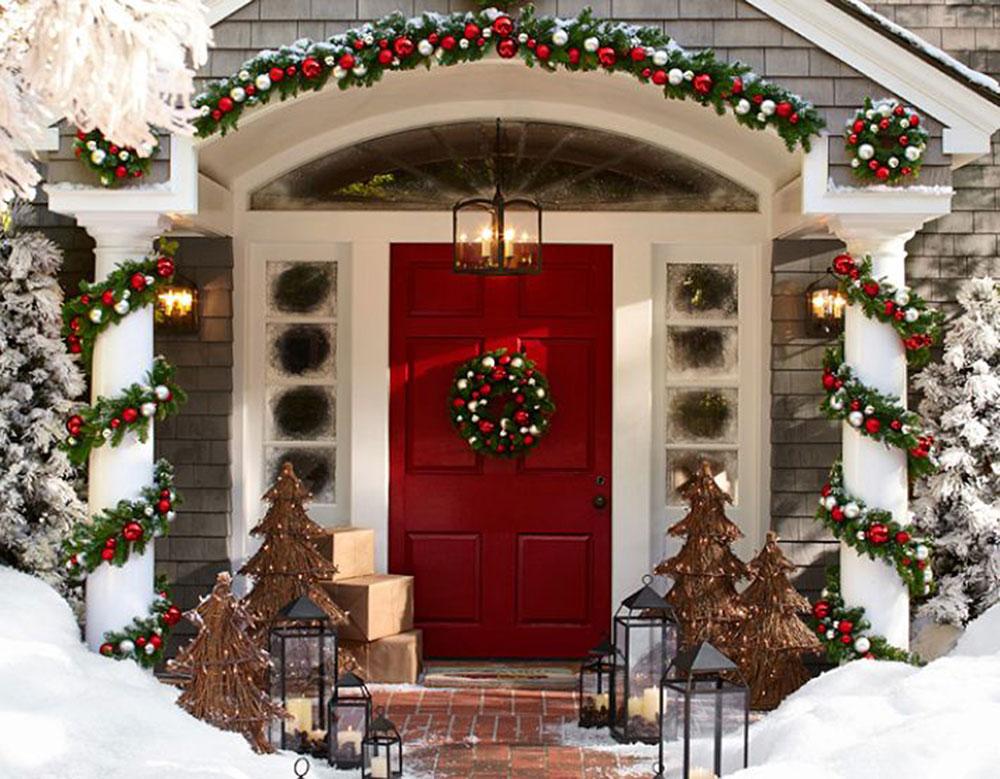 Decorazioni Da Esterno Natale : Decorazioni natalizie addobbi per l esterno della casa
