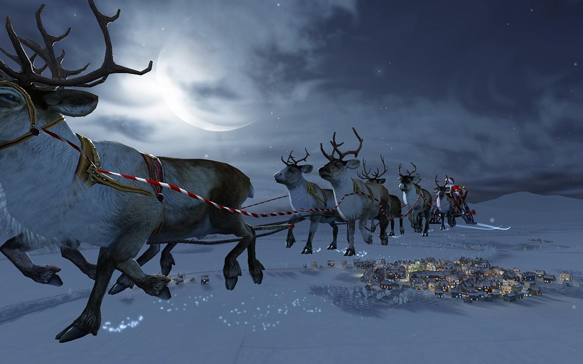 Renne Di Babbo Natale Nomi.La Storia E I Nomi Delle Renne Di Babbo Natale Aspettandonatale