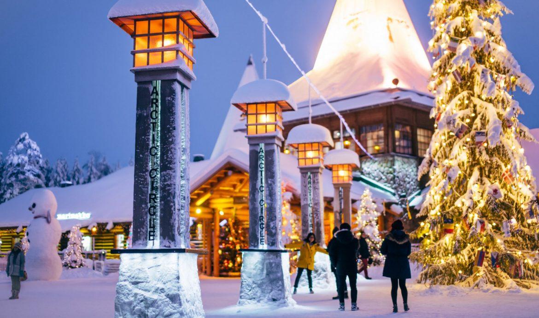 Dove E La Casa Di Babbo Natale.La Vera Casa Di Babbo Natale Aspettando Natale