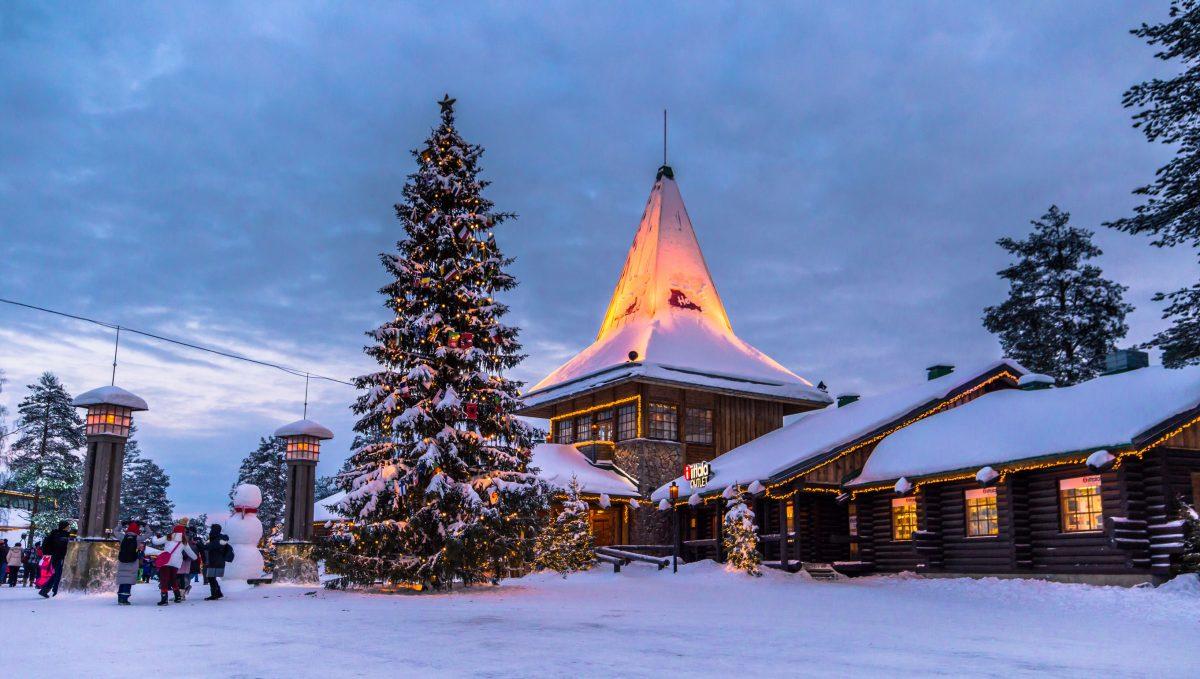 Parco Di Babbo Natale.La Vera Casa Di Babbo Natale Aspettando Natale